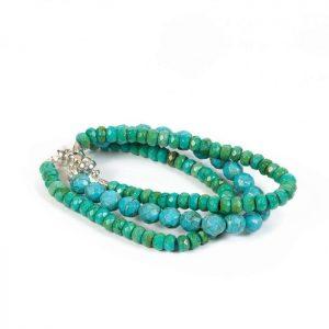 green gemstone bracelet
