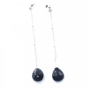 elegant blue stud earrings
