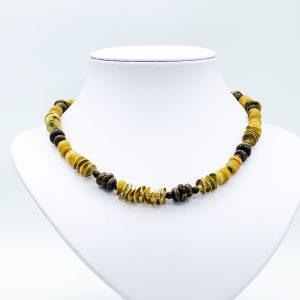yellow jade vermeil necklace