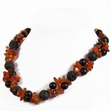 black orange onyx necklace (1)