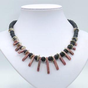 red jasper necklace choker (1)
