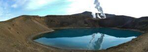 vulcan lake Iceland