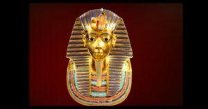 death mask Tutanchamon