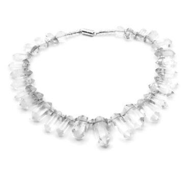 large rhinestone necklace