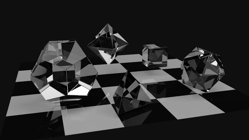 octahedron crystal