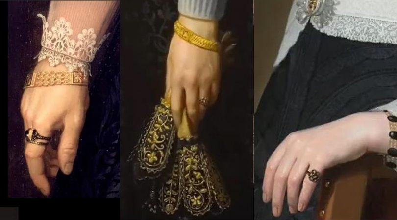 weddings rings worn on every finger